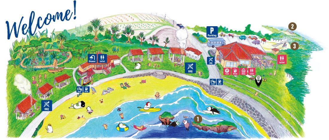 ポークビレッジのイメージマップ