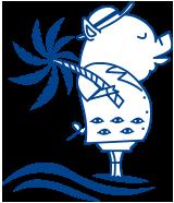 沖縄県の中部、読谷村の渡具知ビーチの施設紹介です